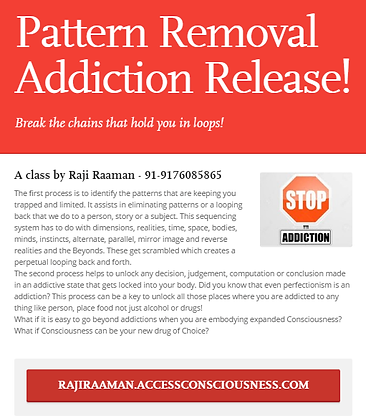 Pattern Removal Addiction Release