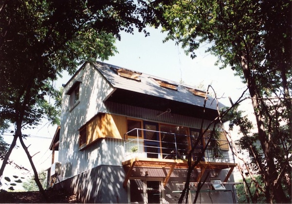 狐台の家+アトリエ105南側