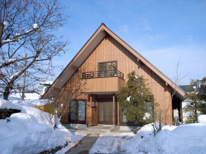 雪国の家造り1