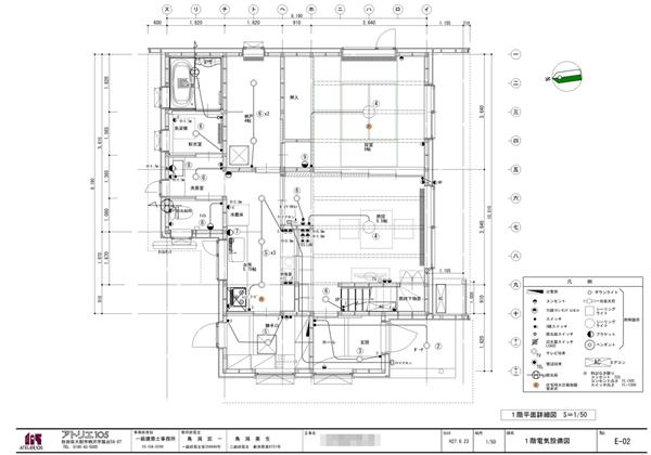 電気設備図(でんきせつびず)
