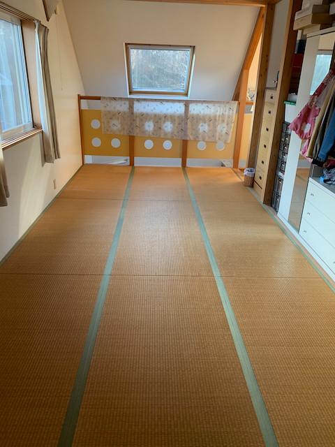 我が家の畳の表替え