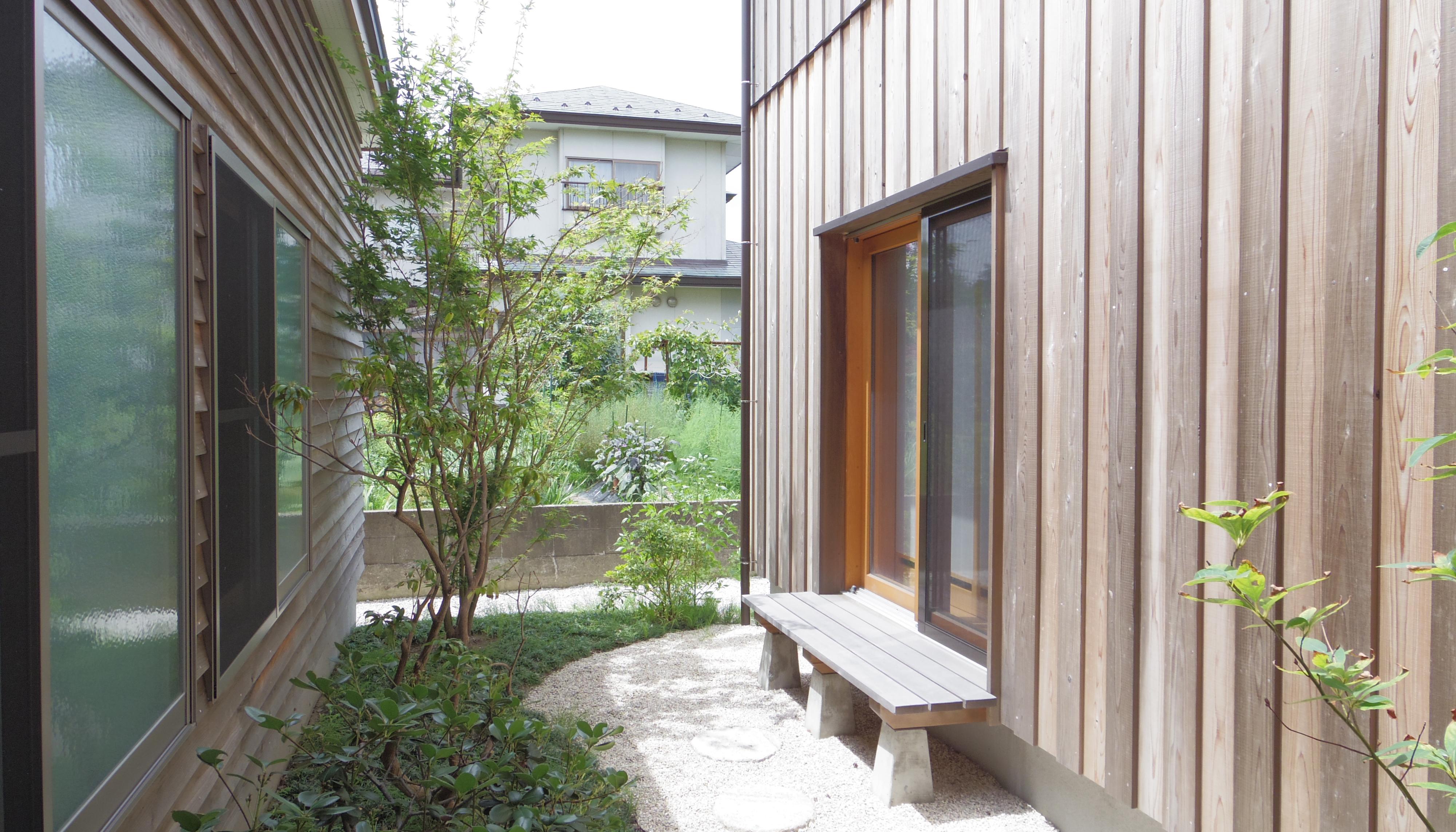 太田邸中庭(カット)