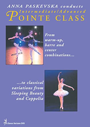 Anna Paskevska Conducts Intermediate/Advanced Pointe Class DVD