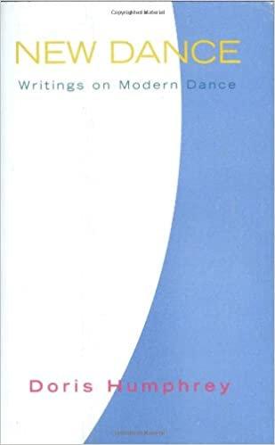 New Dance: Writings on Modern Dance