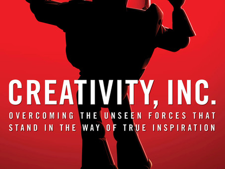 Seek failure and be wrong as fast as you can:  Creativity, Inc.