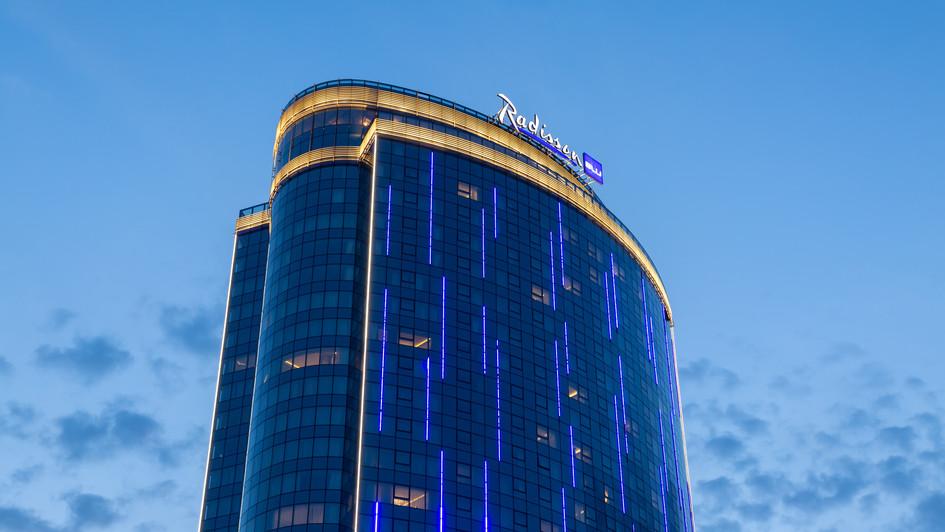 Radisson Blu Olympiyskiy, Фотосъемка отеля