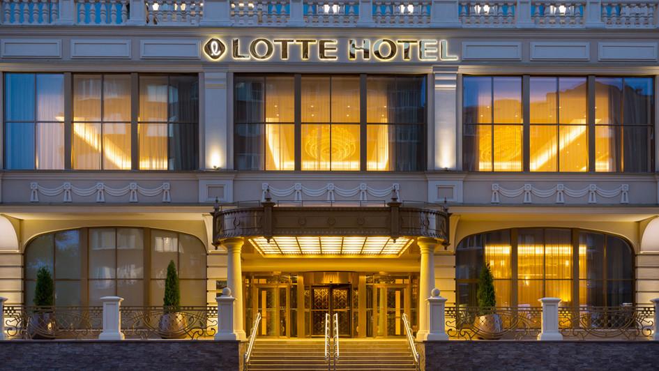 Lotte Samara, Фотосъемка отеля