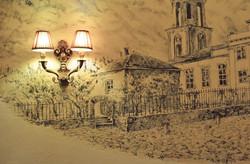 роспись стен, сграффито