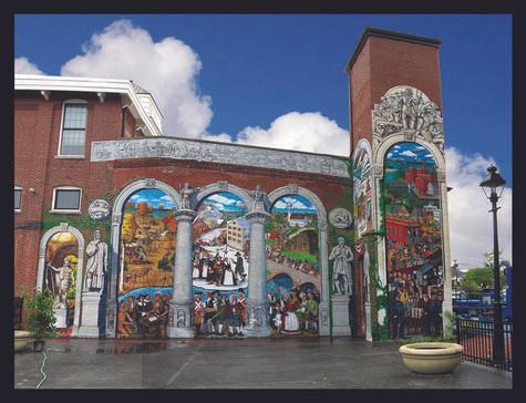 History of Ipswich Mural