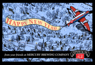 Brewery Holiday card