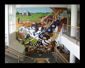 Belmont Hill Athletics Mural