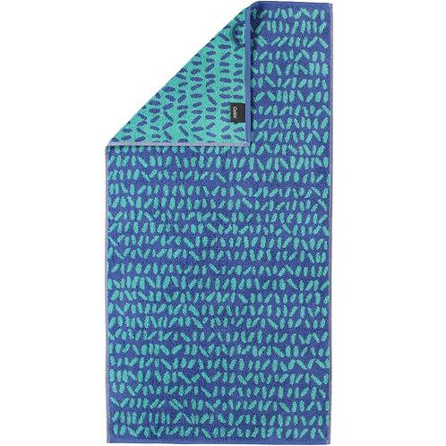 Asciugamano Cawö Fantasia Azzurro - Joppi Abbigliamento