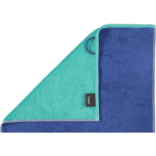Asciugamano Cawö Tinta Unita Blu - Joppi Abbigliamento