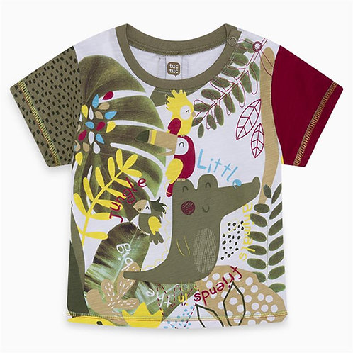 TUCTUC T-shirt Bambino Jungle - Joppi Bimbi & Junior