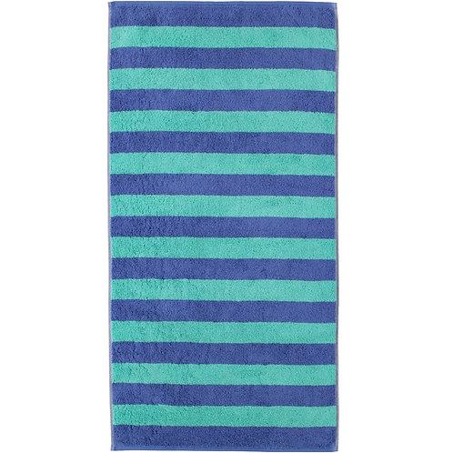 Asciugamano Cawö Rigato Azzurro - Joppi Abbigliamento