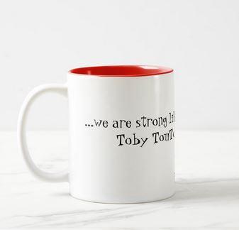 Strong Like an Oak Ceramic Coffee Mug