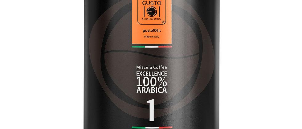 Caffè macinato in barattolo EXELLENCE