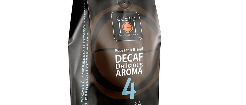 Caffè in grani DECAF DELICIOUS AROMA