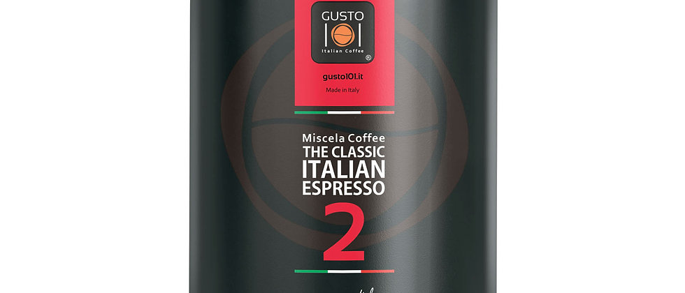 Caffè in grani in barattolo CLASSIC
