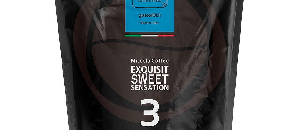 Caffè in grani EXQUISIT SWEET miscela coffee