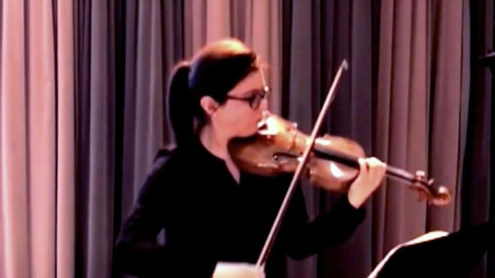 2014 // Brahms violin sonata, Bruce Gaulin piano.