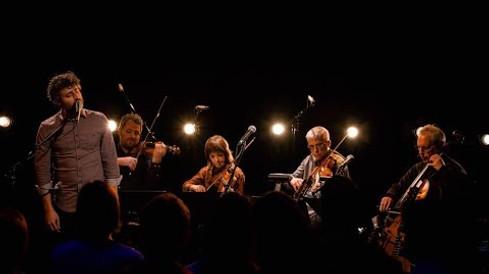 Louis-Jean Cormier et le Quatuor Saguenay