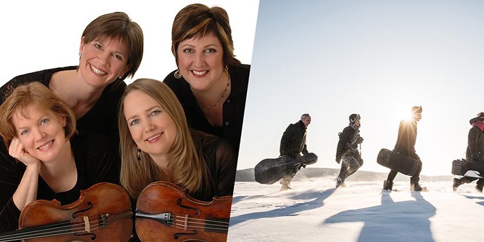 Octets, Saguenay Quartet and the Lafayette Quartet