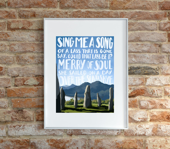 Sea to Skye | Giclee Art Print