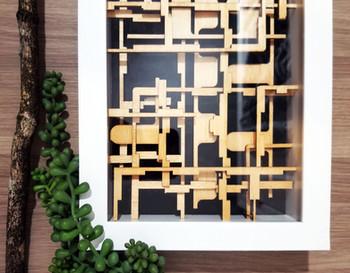 Floor Plan, 3D Art