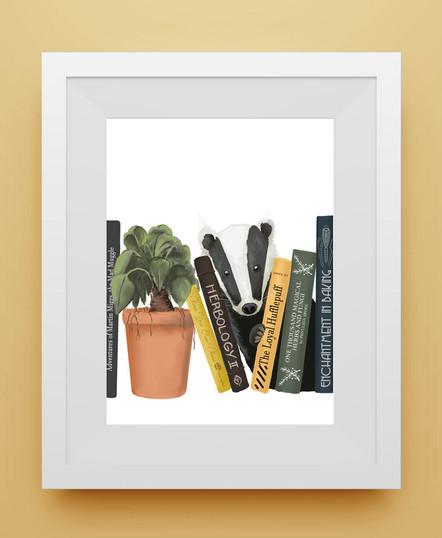 Hufflepuff framed.jpg