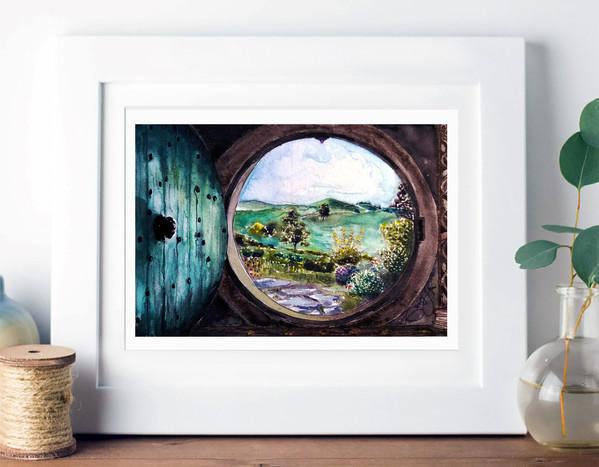 hobbit hole framed.jpg