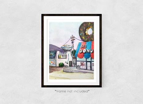 Big Donut Framed.jpg