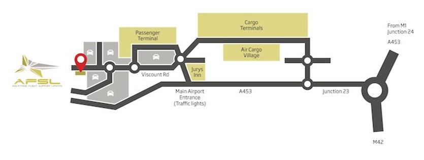 AFSL Location Map