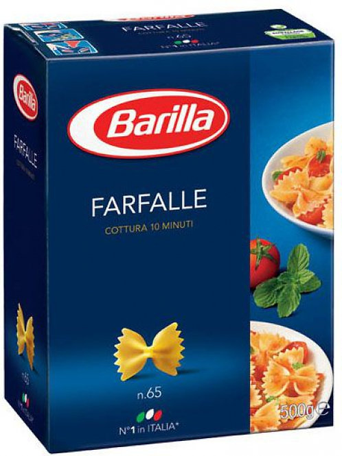Farfalle durum Barilla 500g/db