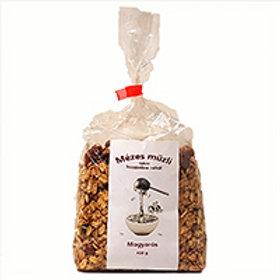 Mézesmüzli (granola) mogyorós 400g/db