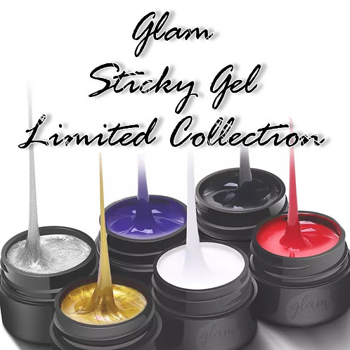Glam Sticky Gel Collection (6 Color Set)