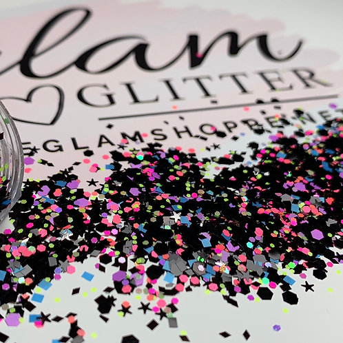 Glam Glitter - Mix - Black Light
