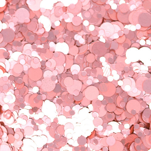 Glam Glitter - Mix - Rose Bubbly
