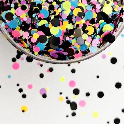 Glam Glitter - Mix - Neon Confetti