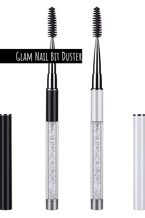 Glam Nail Bit + EFile Clean n Dust Brush w/ Metal Cap