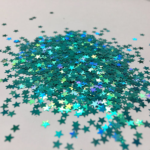Glam Glitter- Laser Sea 3mm Star