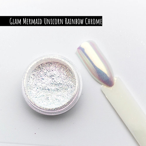 Glam Mermaid Unicorn Chrome Pigment (Rainbow)