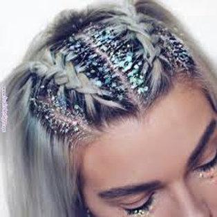 Glam Custom Mixed Cosmetic Body + Hair Festival Glitter Gel
