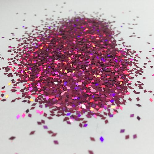 Glam Glitter- Laser Plum 1mm Diamond
