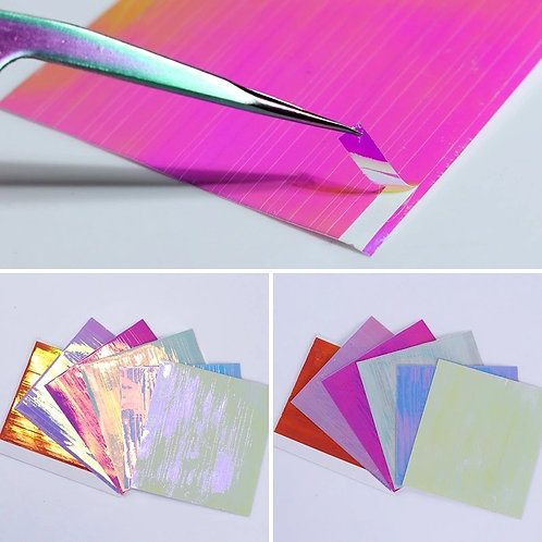 Glam Iridescent Sticker Sheets