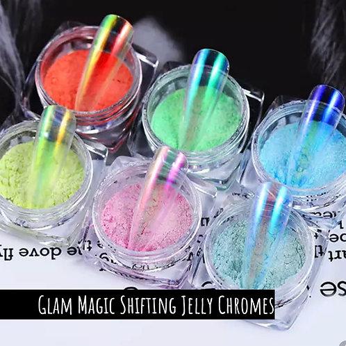 Glam Magic Shifting Jelly Chromes - 6 Shades