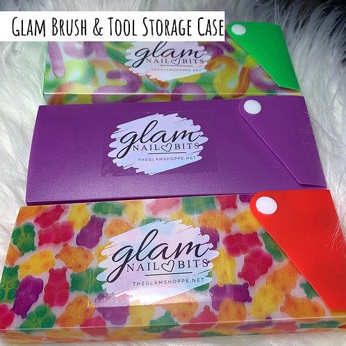 Glam Brush & Tool Storage Case