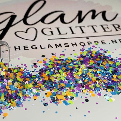 Glam Glitter - Mix - Surf Board