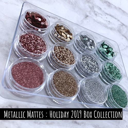 Glam Glitter - Marvelous Metallic Matte | Limited Edition Box Collection