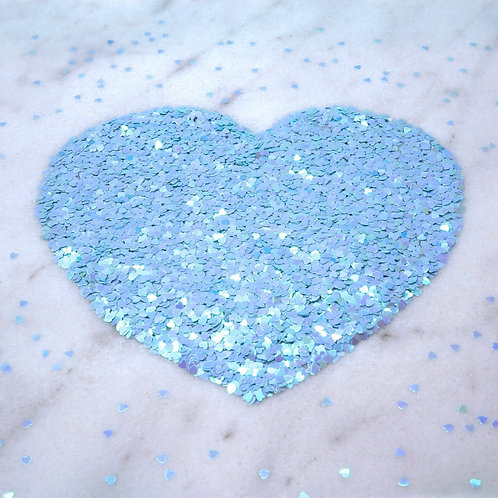 Glam Glitter - Hearts (1.5mm)